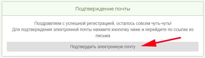 Подтверждение электронной почты на TaskPay